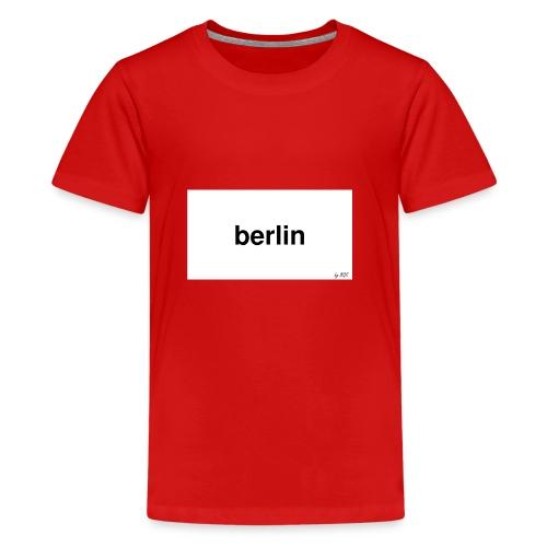 berlin - Teenager Premium T-Shirt