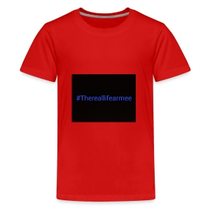 #thereallifearmee merch - Teenager Premium T-Shirt