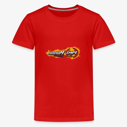 Logo EMPi fond jaune - T-shirt Premium Ado