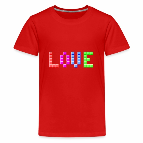 Love Puzzle - Teenager Premium T-Shirt
