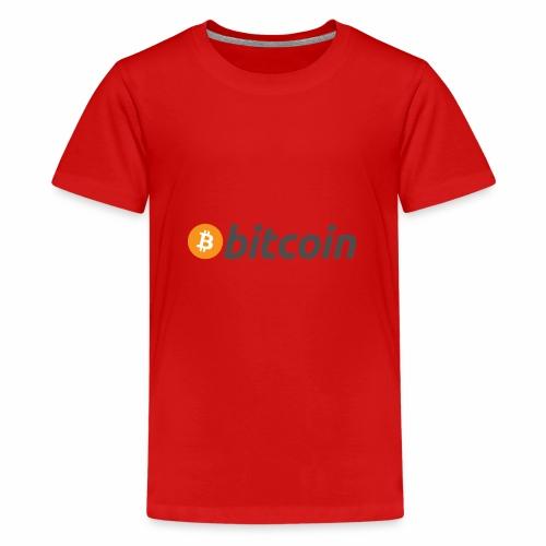 bitcoin 225080 960 720 - Teenager Premium T-Shirt