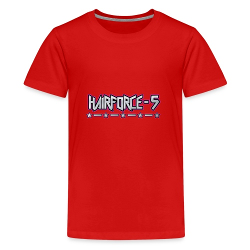 HF5 stars logo chrome - Teenage Premium T-Shirt
