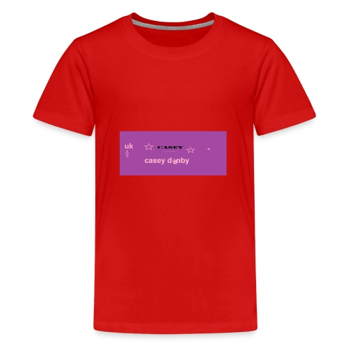 casey first merch :O - Teenage Premium T-Shirt