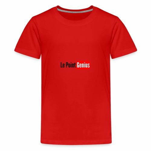 Le Point Genius Youtube - T-shirt Premium Ado