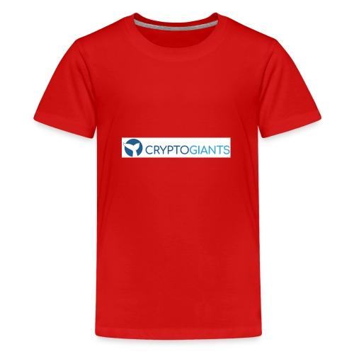 CryptoGiants Logo - Teenager Premium T-Shirt
