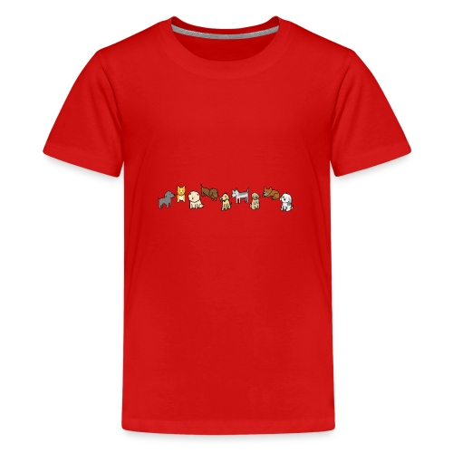 Doggos - Teenage Premium T-Shirt