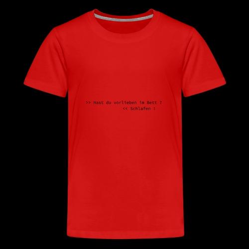 Vorlieben - Teenager Premium T-Shirt