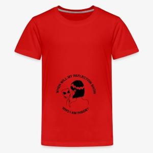 Who am I? - Teenage Premium T-Shirt