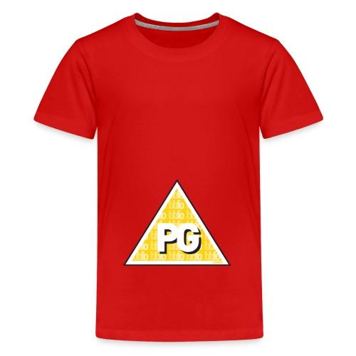 Plato games Logo Groot - Teenager Premium T-shirt