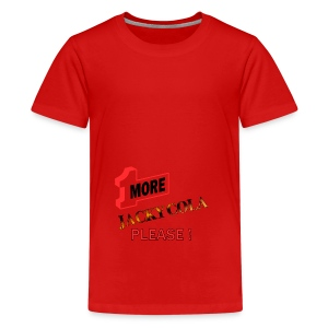 1 MORE Jacky Cola - Teenager Premium T-Shirt