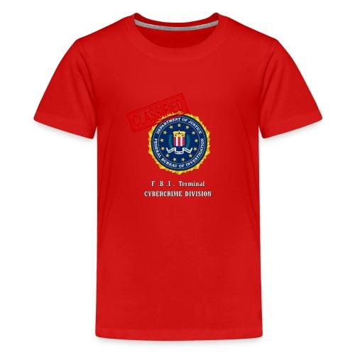 F B I - T-shirt Premium Ado