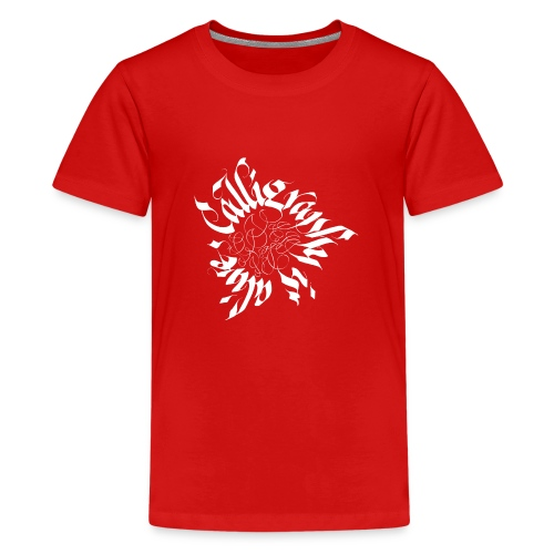 2 Callligraphy is alive - Teenager Premium T-Shirt
