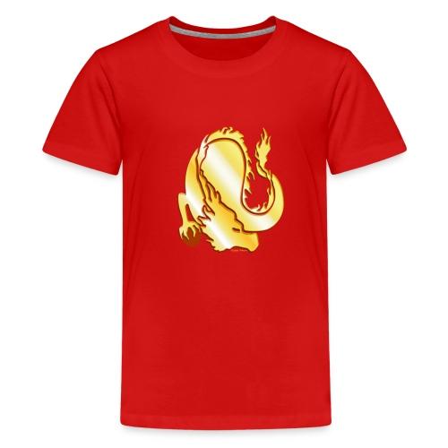 Drache - Teenager Premium T-Shirt