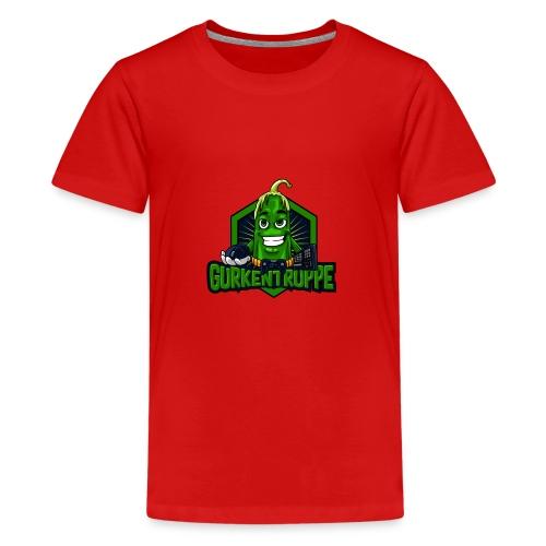 Gurkentruppe Logo - Teenager Premium T-Shirt