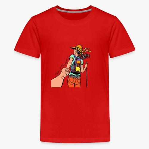 viens je t'emmène ... en rando - T-shirt Premium Ado