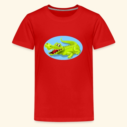 crocodile - T-shirt Premium Ado