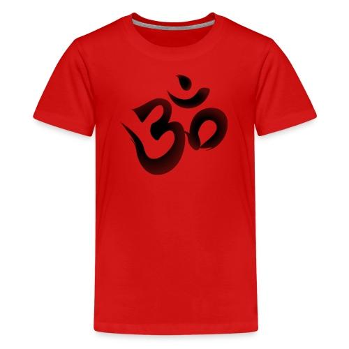 OM Mantra Joga - Teenager Premium T-Shirt