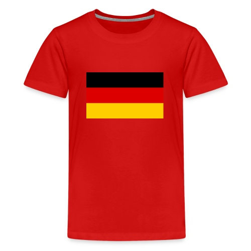 Deutsche flage - Teenager Premium T-Shirt