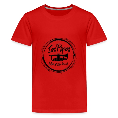 Los Pipos - Latin Jazz Band - Teenager Premium T-Shirt