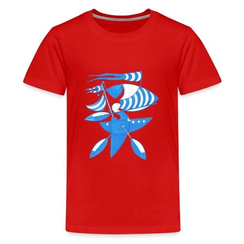 Grafik Seezeichen - Teenager Premium T-Shirt