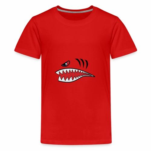 Tigerhai Maul - Teenager Premium T-Shirt