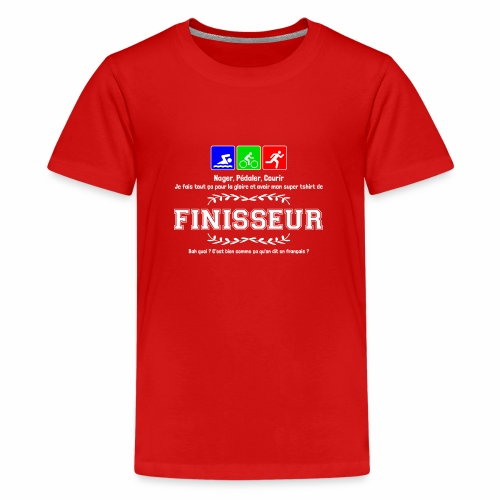 Finisseur - T-shirt Premium Ado