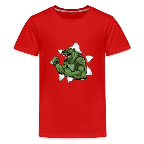 Vip3rBear Logo - Teenage Premium T-Shirt