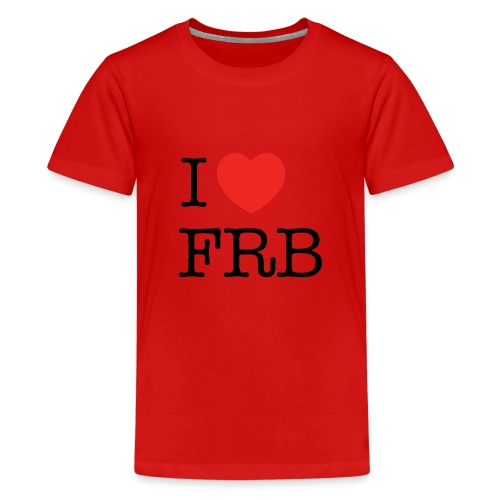 I Love FRB - Børnekollektion - Teenager premium T-shirt