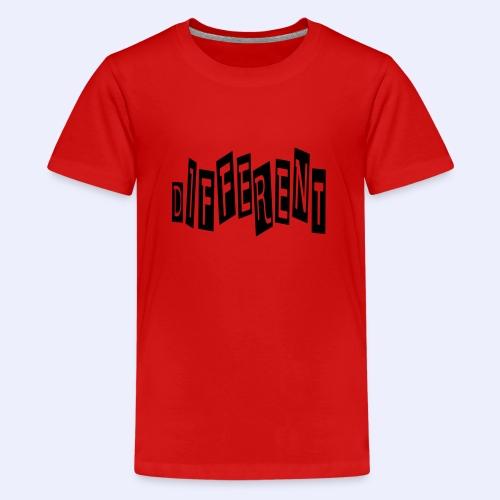 diferent - Teenager Premium T-shirt