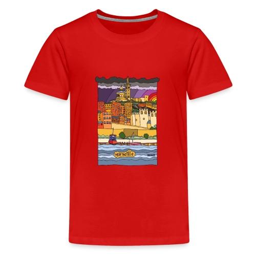Marseille mon amour - T-shirt Premium Ado