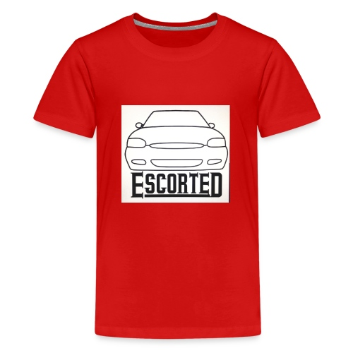 Escorted - Teenage Premium T-Shirt