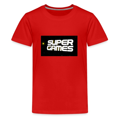 #SuperGames - Teenager Premium T-Shirt
