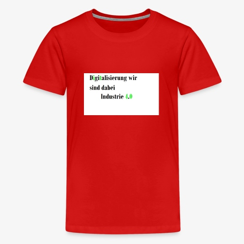 Industrie - Teenager Premium T-Shirt