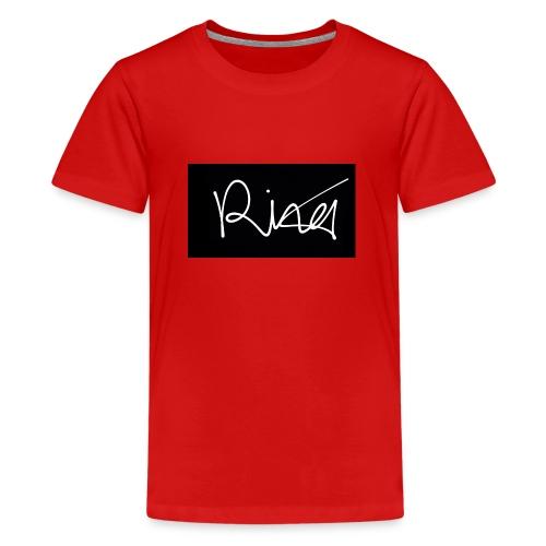 Autogramm - Teenager Premium T-Shirt