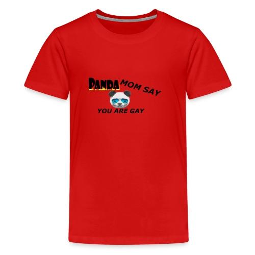 Marlon`s Panda MAMA - Teenager Premium T-Shirt