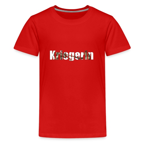 kriegerin - Teenager Premium T-Shirt
