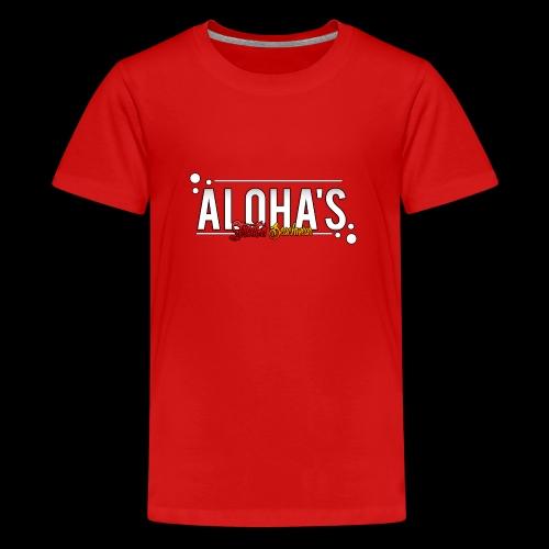 Aloha's Deluxe - Teenager Premium T-Shirt