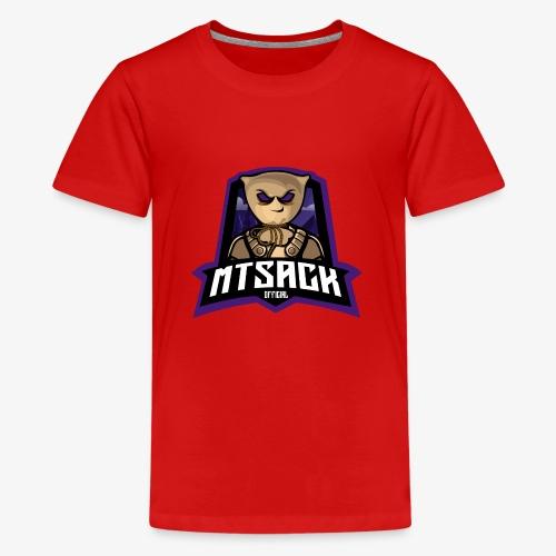 MTsack official Logo - Teenage Premium T-Shirt