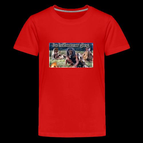 holbewoner gang - Teenager Premium T-shirt