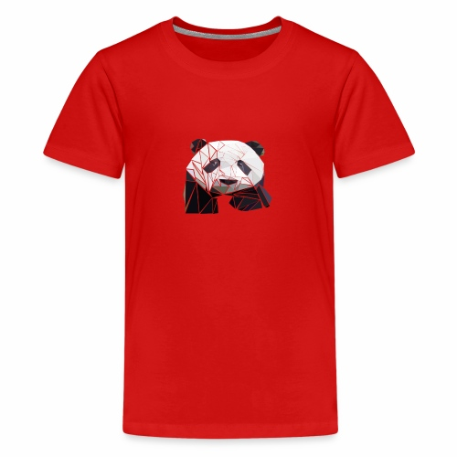 Polygon Panda - Teenager Premium T-Shirt