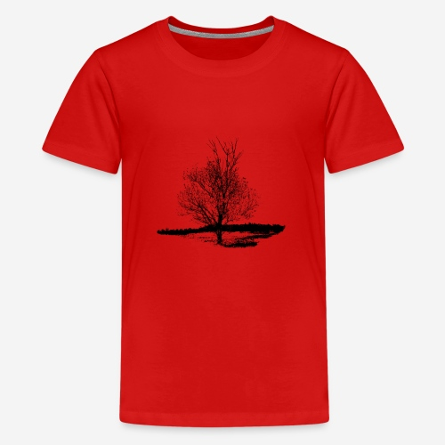Tree #001 - Teenage Premium T-Shirt