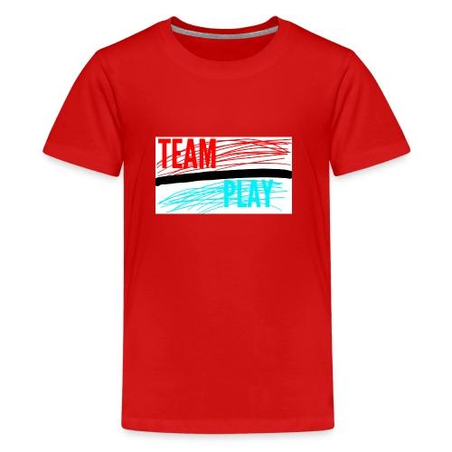 TEAM PLAY - Teenage Premium T-Shirt