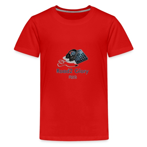 Road2 Glory Logo - Teenage Premium T-Shirt