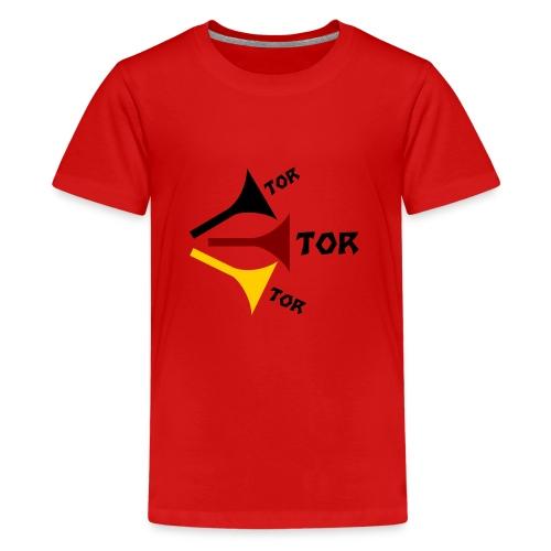 deutsche Vuvuzela - Teenager Premium T-Shirt