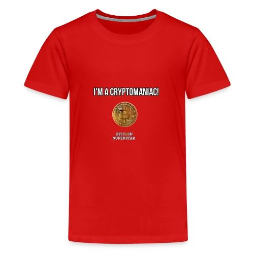 I'm a cryptomaniac - Maglietta Premium per ragazzi