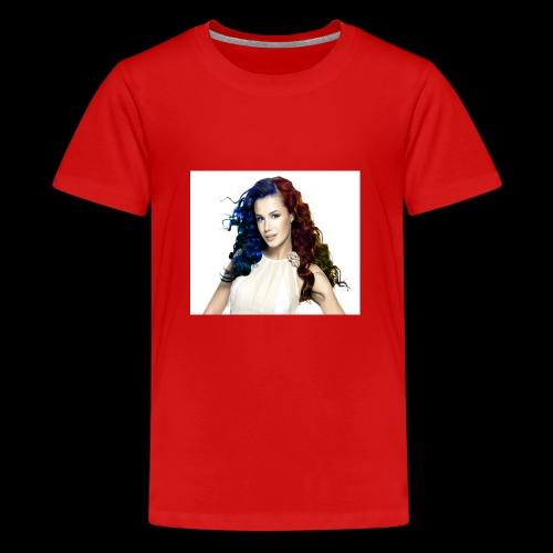 Mujer two color - Camiseta premium adolescente