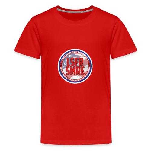 ADMIN CAP - Teenage Premium T-Shirt
