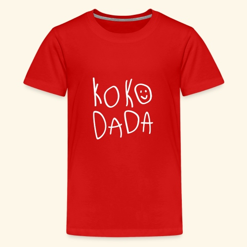 Kokodada Time - Premium-T-shirt tonåring