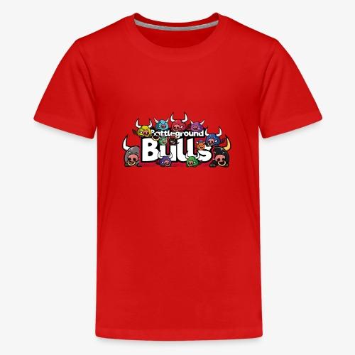 Bulls-Familie - Teenager Premium T-Shirt