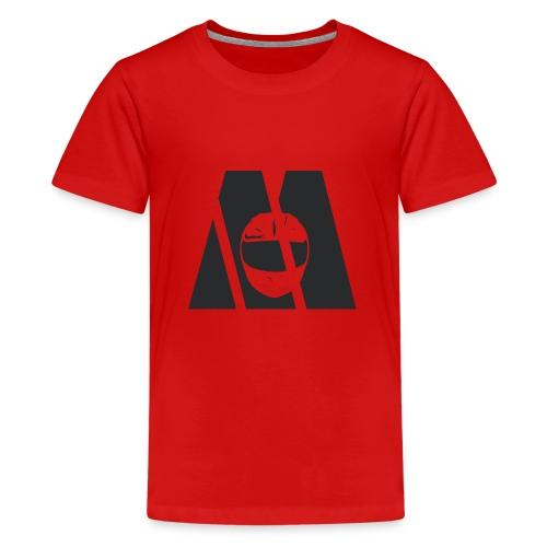 Motocyc Logo, schwarz - Teenager Premium T-Shirt